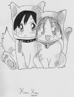 Kare Kano Fan art kitties by KimiSaku19