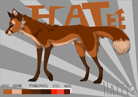 Hatee The Fox - FOR SALE by GalaxyCrowButt