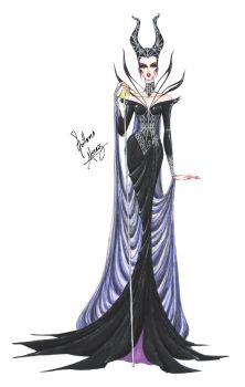 Maleficent's Spell by frozen-winter-prince