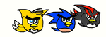 Sonic Comic 03: Angry Sonics by SonicAndKnucklesFTW