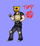 Hotline Miami 2 - The fans: Tony by pileup-on-cwa