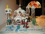 Rise of the Guardians Gingerbread House by HezuNeutral