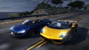 audi vs lambo. NFS by daz1200