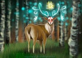 Stag by Sugarsnail by TheEndlessForest