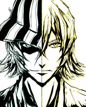 Kisuke Urahara - The Captain and The Shop Keeper by MetalDBN