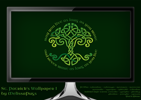 St. Patrick's Wallpaper I by melissapugs