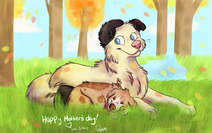 A Drawing only A Mother could Love by DogFwish