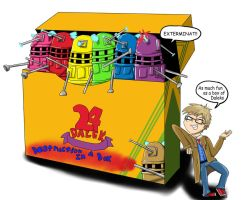 Dr. Who Crayons by assassinness