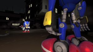 -Request- Metal Sonic Encounter! by TheRiverKruse