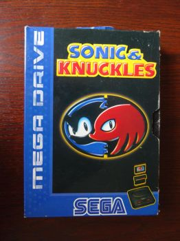 Sonic and Knuckles (Mega Drive) by BoomSonic514