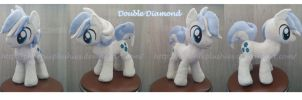 Double Diamond plushie by Feneksia-Creations