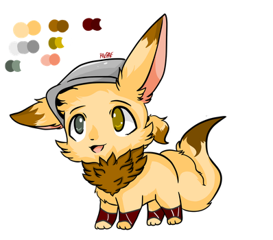 Nami The Eevee Referance by Myumimon