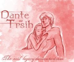 Dante and Trish by the-evil-legacy