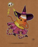 Witchy Candy Corn - sketch by grelin-machin