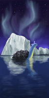 Northern Lights by superpsyduck