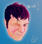 Oli Winks at You by SpankTheEvilmonkey
