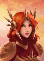 The Radiant Dawn ~ Leona by Arlequinne