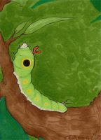 010 - Caterpie by Clorin-Spats