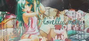 Lovelly miku by Arriiety