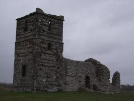 Knowlton Church Ruin 36 by LadyxBoleyn