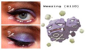 Pokemakeup 110 Weezing by nazzara