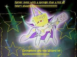 SpongeBob Rock of Wizard Wallpaper by Angelgirl10