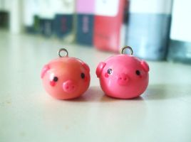 Pig Charms by Number1FMAfangirl