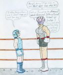Boxing Spar - Kenny vs Headmistress Kdog0202 by Jose-Ramiro