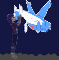 Star and Latios 1/2 by thecat1313