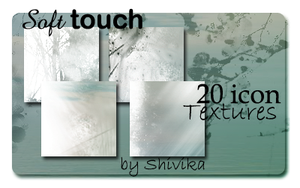 Soft Touch Icon Textures by spiritcoda