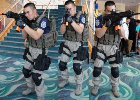 Chris Redfield at the Long Beach Comic Con 2013 by trivto