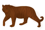 Wooden Tiger Adoptable by Auzie-Angel