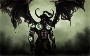 Illidan Stormrage by Domiticus