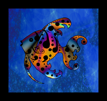 Fractalized Fish by hippychick-nm