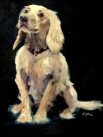 Louis oil painting by meeart