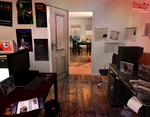 Master Bedroom (Clue #5) - Project Red Apartment by FlitsArt