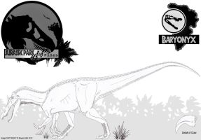 InGen Files - Baryonyx (updated) by Miyess