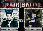 Death Battle, Maleficent(2014) VS Maleficent(1959) by 4xEyes1987
