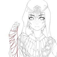 Jafar Lineart//(small edit) by Miivei