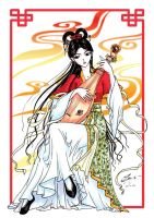 Chinese Musician by sonialeong