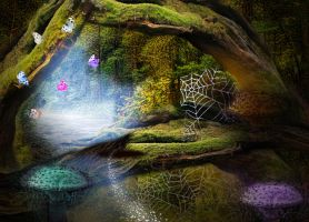 foret fantasy by roserika
