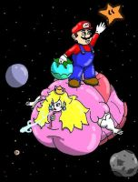Stupid Mario by bishunter