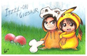2th Aniversary Pokemon by Giosuke