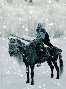 Game of Thrones - The white Walker by LadyNightVamp