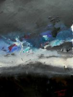 Stormy weather by wiitii