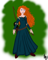 Merida by Maygirl96