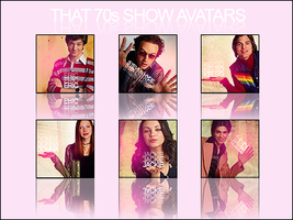 That 70's Show Avatars by Smo0n
