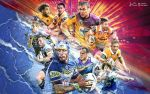 NRL Grand Final 2015 Wallpaper by skythlee