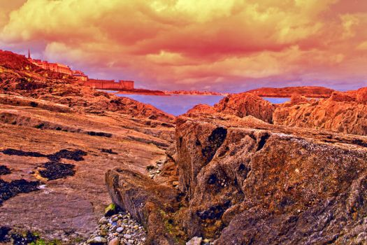 Un plage a Saint Malo by hubert61