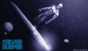 The Silver Surfer by litanilitani